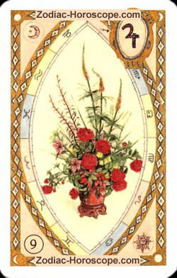 The bouquet, monthly Love and Health horoscope October Sagittarius