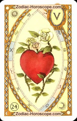 The heart, monthly Love and Health horoscope September Sagittarius