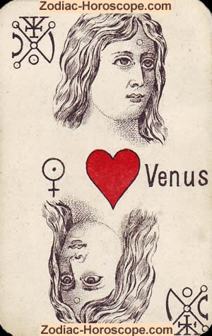 The Venus psychic Tarot