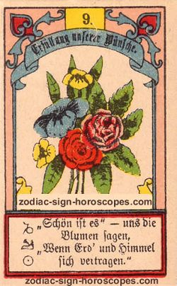 The bouquet, monthly Sagittarius horoscope January